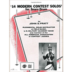 14 Modern Contest Solos: For Snare Drum cover page
