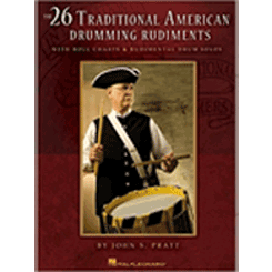 26 Traditional American Drumming Rudiments cover page